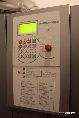 Sala Hargassner - Biomasa