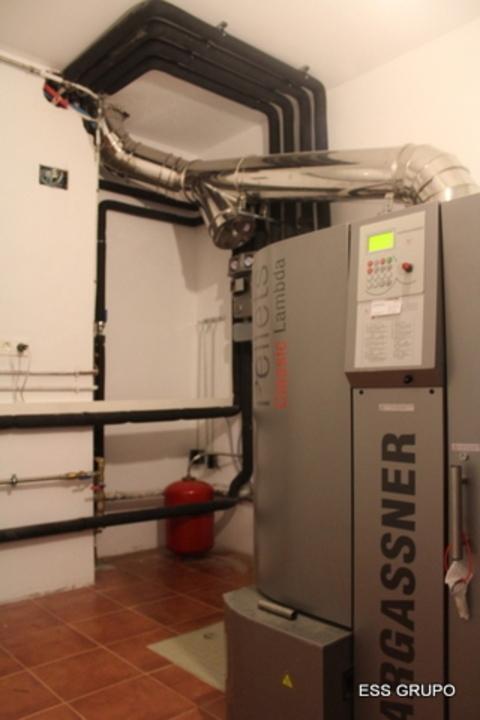 ESS Grupo -  Technical Room Installation - HARGASSNER - ESS - Estudios y Soluciones Sostenibles